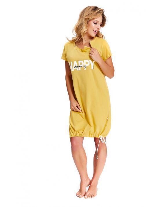 Ночная рубашка для кормящих и беременных Doctor Nap TCB 9504 honey