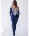 купить пижаму женскую Wiktoria 508 с геометрическим орнаментом