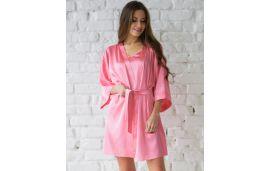 Одяг для дому Wiktoria W 417 рожевий