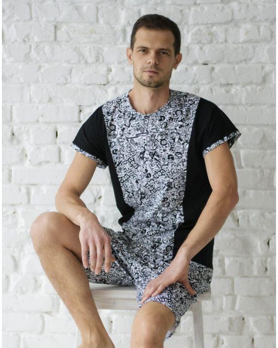 купить мужскую пижаму Wiktoria 633