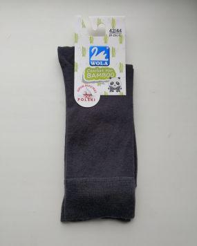 Мужские носки Wola Comfort Man бамбуковые серые