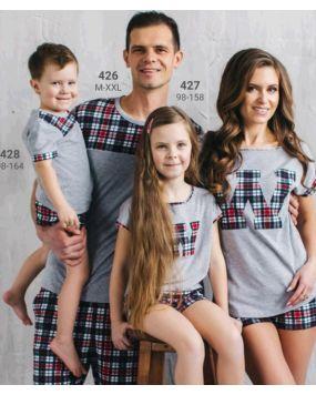 Пижама для девочек Wiktoria Family W 427