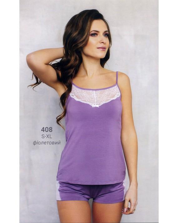 Пижама Wiktoria W 408 фиолет