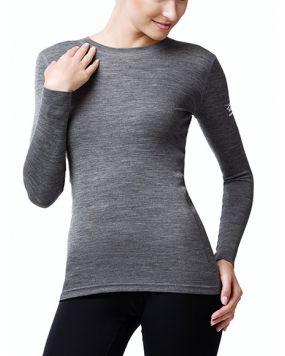 Футболка з довгим рукавом Norveg Soft Shirt сіра меланжева арт. 14SW1RLRU