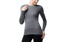 Футболка с длинным рукавом Norveg Soft Shirt серая меланжевая арт. 14SW1RLRU