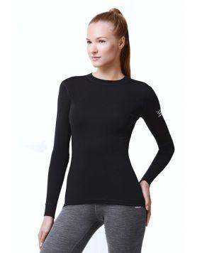 Футболка с длинным рукавом Norveg Soft Shirt черная арт. 14SW1RL