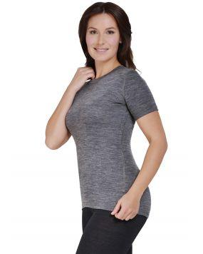 Футболка з коротким рукавом Norveg Soft T-Shirt сіра меланжева арт. 14SW3RS