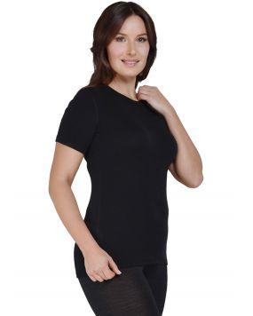 Футболка з коротким рукавом Norveg Soft T-Shirt чорна арт. 14SW3RS