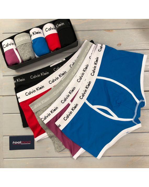 Подарочный набор мужского белья Calvin Klein 5шт. box-365