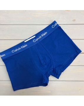 Мужские трусы шорты Calvin Klein 365 NEW синие 4-2