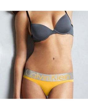 Стринги Calvin Klein steel желтые 7