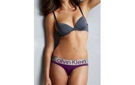 Стринги Calvin Klein steel фиолетовые 7
