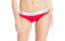 Слипы Calvin Klein new красные 7-4