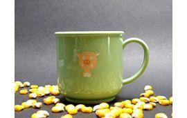 Детская чашка XKKO Organik ECO арт. TAR301 салатовая
