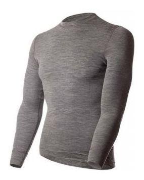 Футболка с длинным рукавом Soft Shirt серый меланж 14SM1RL-014