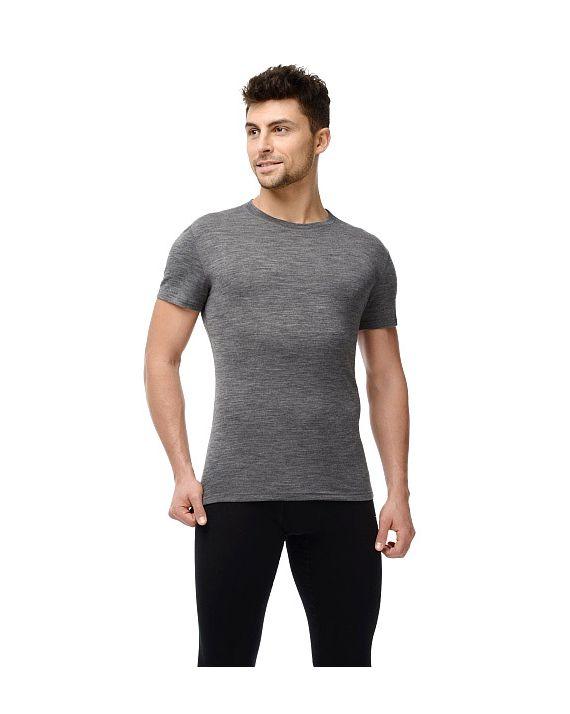 Футболка с коротким рукавом Soft T-Shirt серый меланж 14SM3RSRU-014