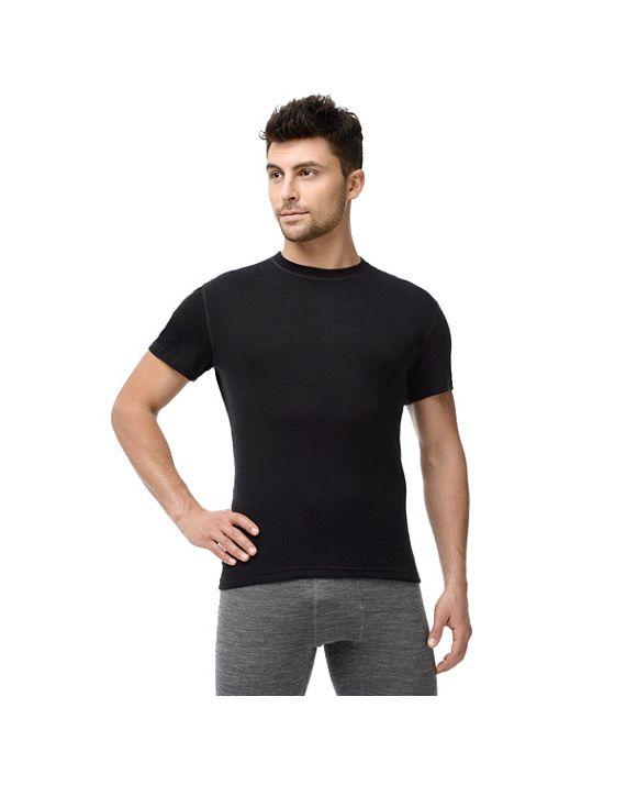 Футболка с коротким рукавом Soft T-Shirt черная 14SM3RSRU-002