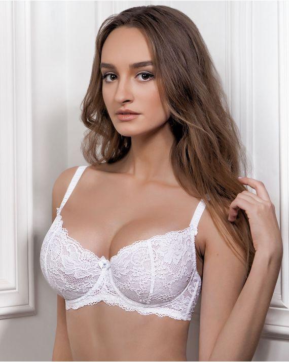 Бюстгальтер Jasmine Luna 1401/14 белый