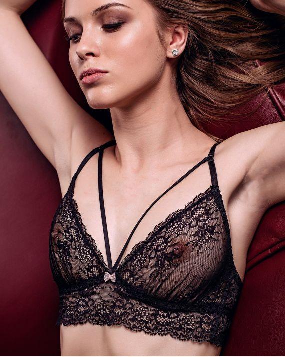 Браллет Jasmine DELA 1625/28 сірий/рожевий